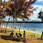 Mont Choisy Public Beach 1970s