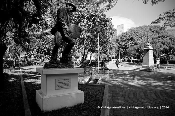 Alphonse Ravaton Monument Port Louis Company Garden