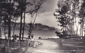 Baie du Cap - Macondé - Viewed from La Prairie - 1950s
