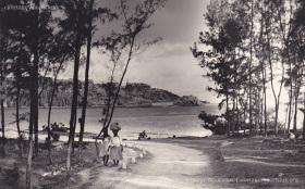 Baie du Cap - Macondé - Viewed from La Prairie - 1950s