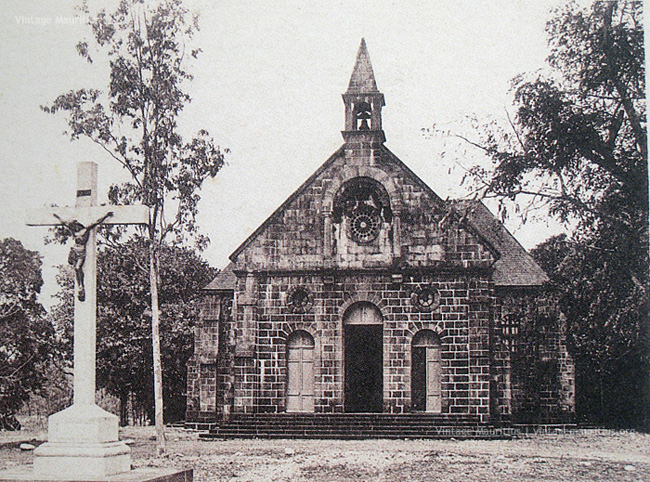 Bambous - Saint Sauveur Church - 1920s (Errected: 1849)