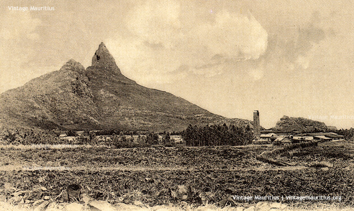 Bassin Sugar Estate - Mauritius - Rempart Mountains - 1911