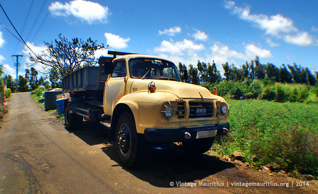 Bedford Lorry at Poudre D'Or - Mauritius