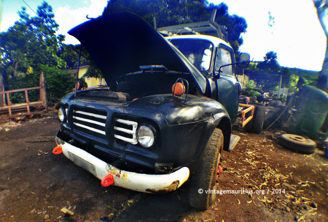 Bedford Lorry in the Clinic at Quatre Soeurs - Mauritius