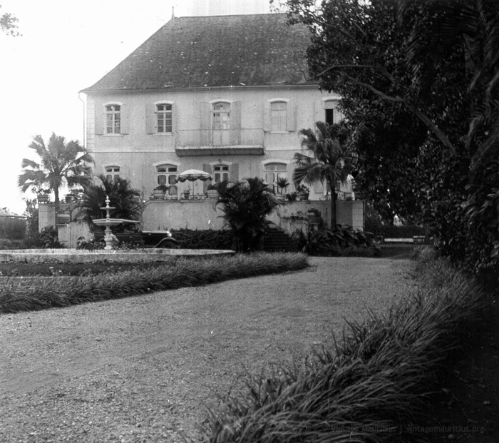Chateau Robillard - Gheude Castle - Mahebourg - Naval Museum - 1930s