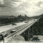 Montagne Ory – Construction of the Motorway at Coleville Bridge – 1962