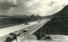 Construction of Motorway at Coleville Bridge - Montagne Ory - Mauritius - 1962