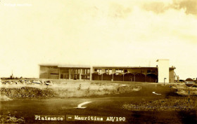 Construction of Plaisance (SSR) Airport - 1960