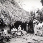 Village Lifestyle: People living in Straw Houses – 1950s
