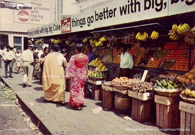 Curepipe Market Mauritius 1978