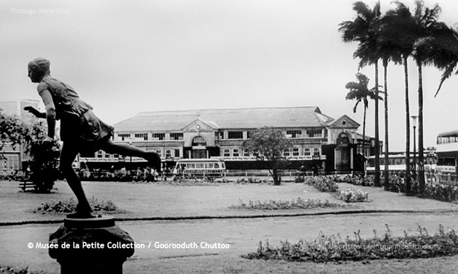 Curepipe Old Market from Municipal Garden - 1960s