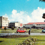 Curepipe – The Old Market viewed from Municipal Garden – 1972