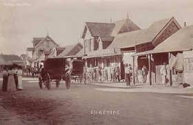 Curepipe - Royal Road - early 1900s