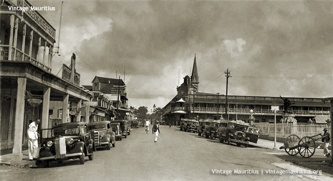 Curepipe Royal Road - 1946