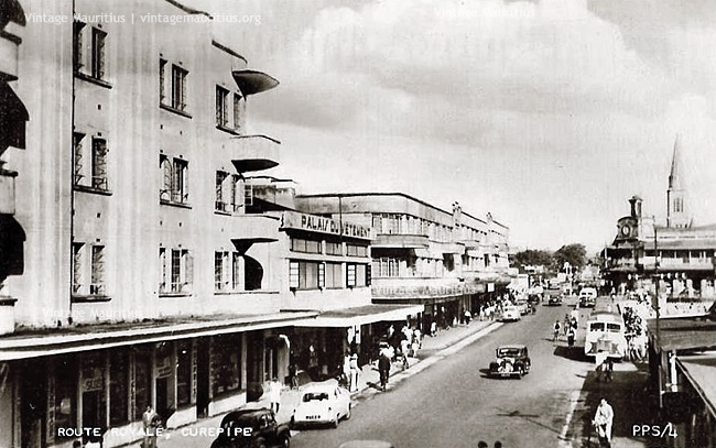 Curepipe Royal Road 1950s