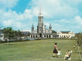 Curepipe - Municipal Garden & St Therese Church and St Joseph Chapel - 1972