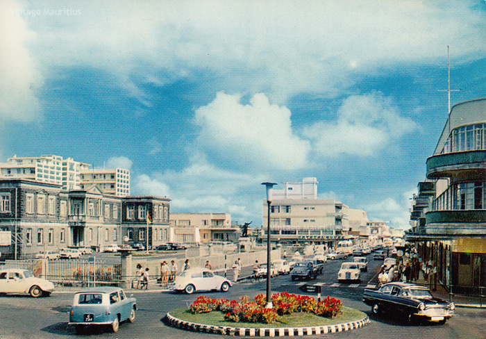 Curepipe Town Centre Royal Road 1970s