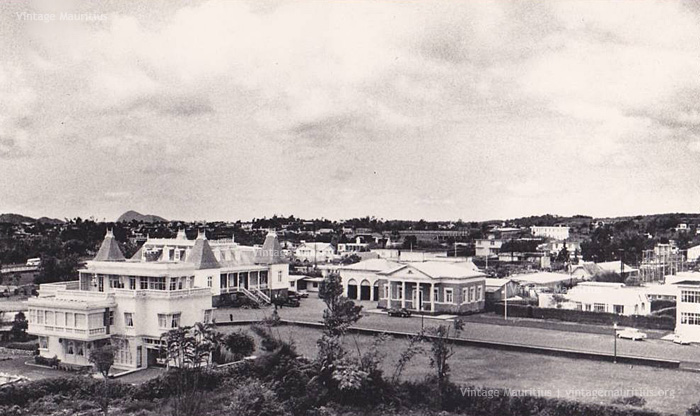 Curepipe - the Town Hall & Municipality - 1950s
