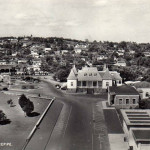 Birdeye View over Curepipe Town Hall, late 1960s