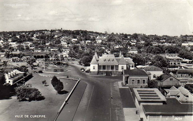 Curepipe Town Hall 1960s Mauritius