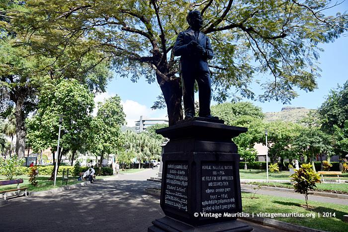 Dr Manilal Maganlal Port Louis Company Garden