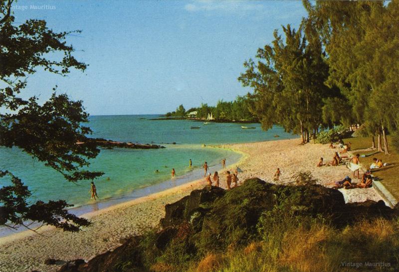 Grand Bay - Grand Sable Beach - 1970s - Vintage Mauritius