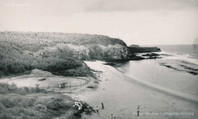 Gris Gris Beach - Mauritius - 1950s - With Horse Track