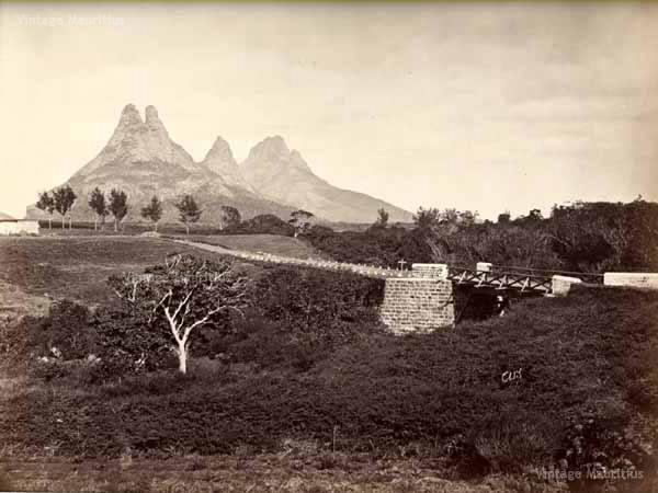Holyrood Bridge Bassin Estate Vintage Mauritius
