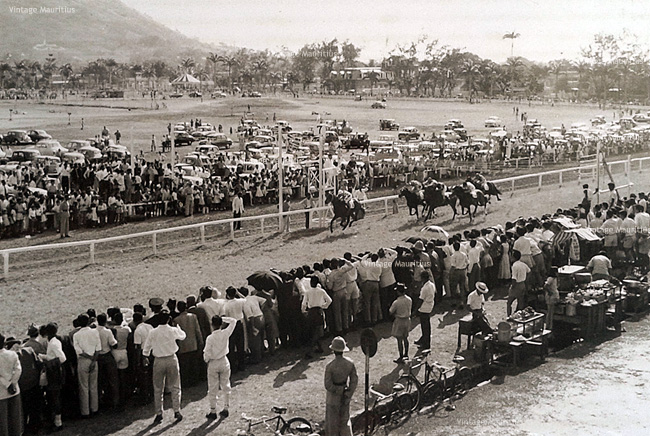 Horse Racing Champ de Mars Band Master winning Princess Anne Plate Port Louis 1958