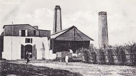 Mahebourg Mont Desert Carrie Sugar Mill