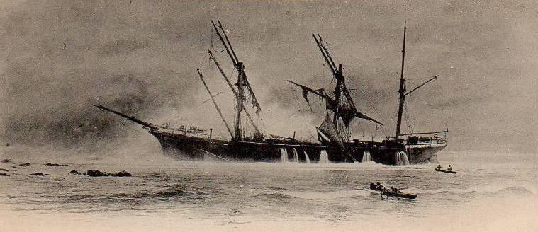 Mahebourg - Pointe D'Esny - Dalblair Ship Wreck Rescue - 1902