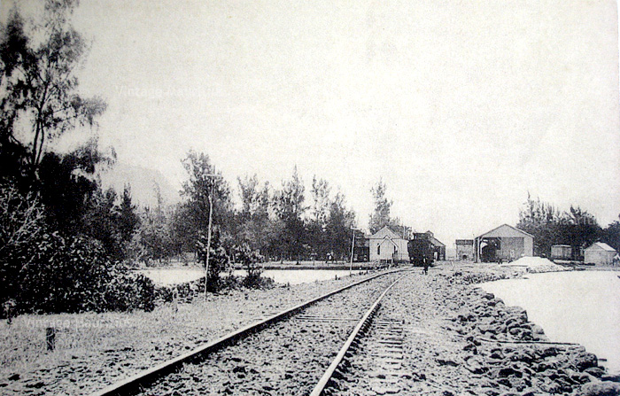 Mahebourg - Train Station - near Pointe des Regates