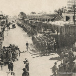 Mauritius Volunteer Force – Parading in Curepipe – 1922