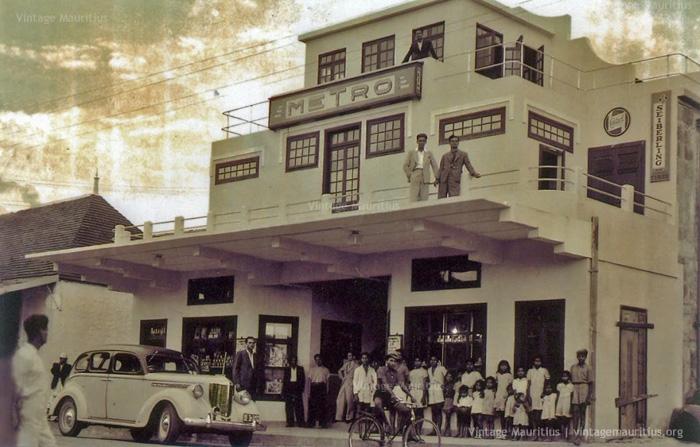 Metro Cinema in Vacoas - 1940s/50s - John Kennedy Avenue