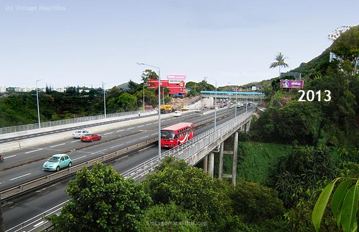 Mont Ory - M1Motorway - Coleville Bridge - Mauritius - Now 2013