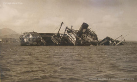 Shipwreck of the Cargo Ship SS Tayeb - Port Louis - 1972