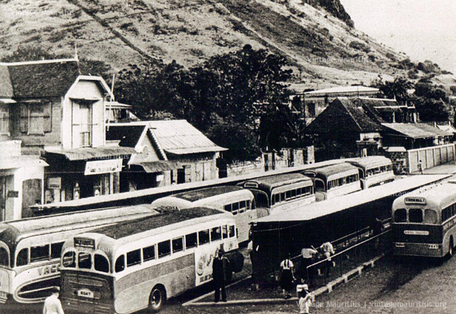 Old Buses Victoria Bus Stand 1950s 1960s