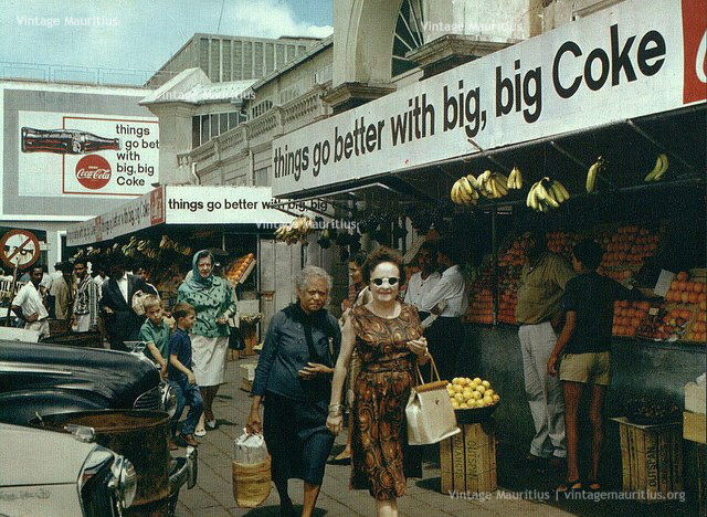 Old Curepipe Market - CocaCola Advert - 1960s
