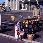 Plaisance Airport – Hawkers of the Time – 1971