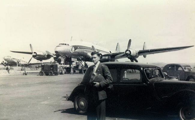 Plaisance Airport - 1950s - SuperConstellation