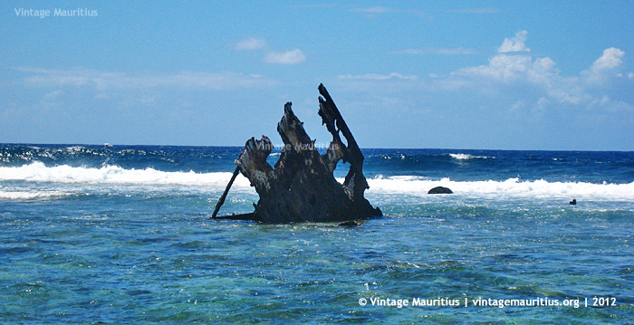 Pointe D'Esny - Dalblair Wreck Remains - 2012