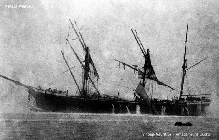 Pointe D'Esny - Dalblair Shipwreck - February 1902