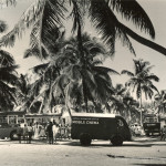 Pointe aux Canonniers – The Mobile Cinema in Mauritius – 1960s