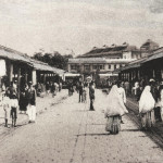 Port Louis – Central Market / Bazar Central – 1923