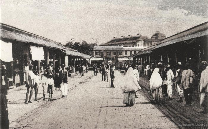 Port Louis - Bazar Central - the Market - 1923