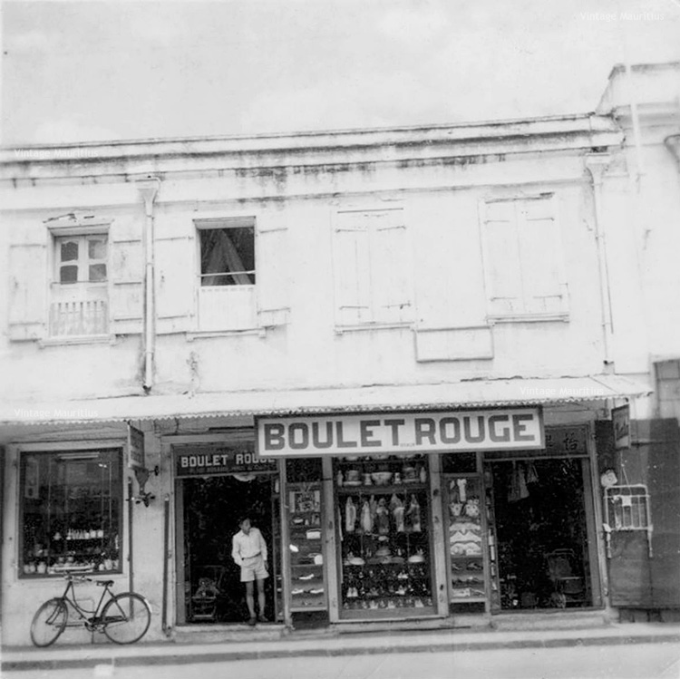 Port Louis Boulet Rouge Shop Royal Street