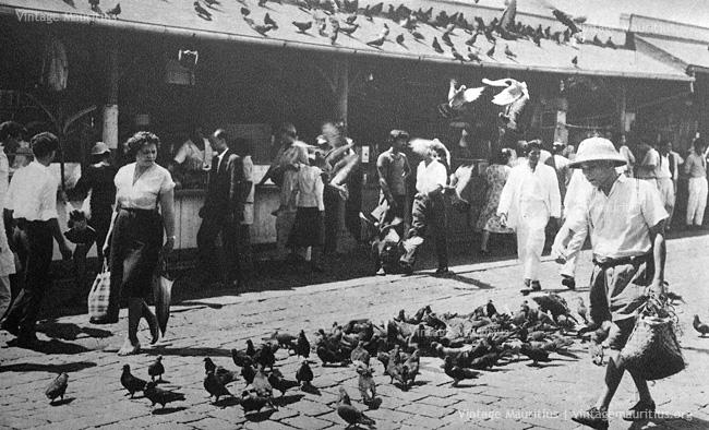 Port Louis - Central Market - 1960s