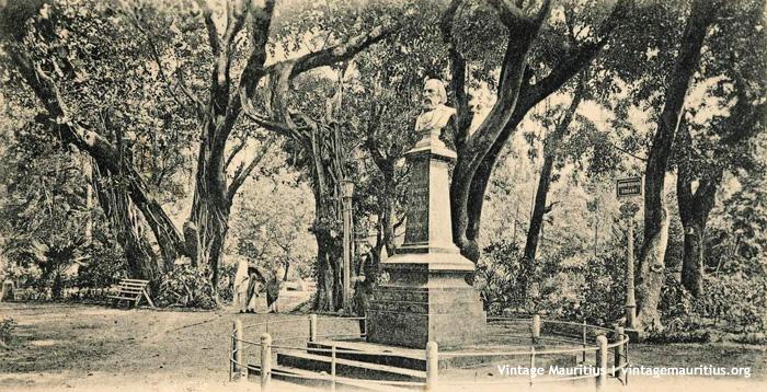 Port Louis Company Garden Brown Sequard 1900s