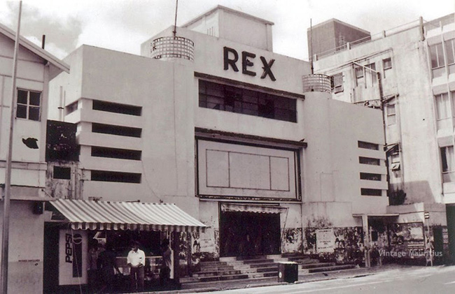Port Louis - Desforges (SSR) Street - Rex Cinema - 1970s