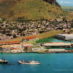 Port Louis – Aerial View over the Harbour – late 1960s